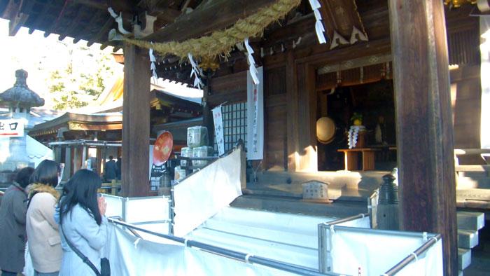 武田神社のお正月