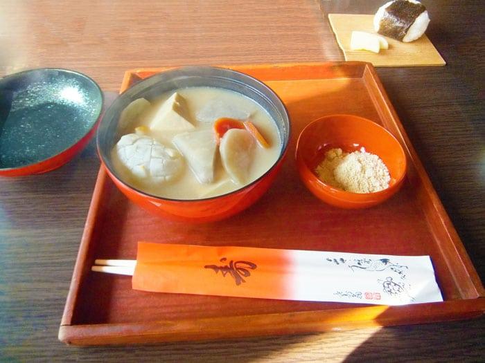 奈良県のきなこ雑煮